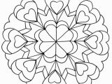 Free Printable Heart Mandala Coloring Pages Funny Coloring Pages for Teenagers 746