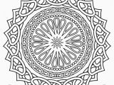 Free Printable Heart Mandala Coloring Pages Printable Mandalas for Coloring Unique Mandala Coloring Pages