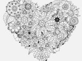 Free Printable Heart Mandala Coloring Pages Stress Relief Coloring Books Best Printable Animal Coloring Pages