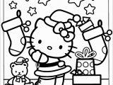 Free Printable Hello Kitty Christmas Coloring Pages Hello Kitty Decoration Christmas Coloring Page Free