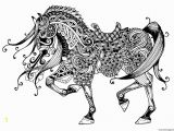Free Printable Horse Coloring Pages for Adults Advanced Advanced Coloring Pages to Print