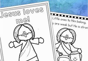 Free Printable Jesus Coloring Pages Jesus Loves Me Coloring Pages Free Printables Set for Kids
