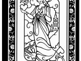 Free Printable King and Queen Coloring Pages Wel E to Dover Publications Wild Cards Stained Glass