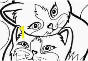 Free Printable Kitty Cat Coloring Pages Halloween Cat Coloring Pages Gallery