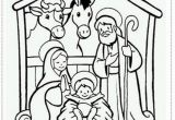 Free Printable Manger Scene Coloring Page Manger Scene Coloring Pages Coloring Home