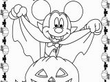 Free Printable Mickey Mouse Halloween Coloring Pages November 2013