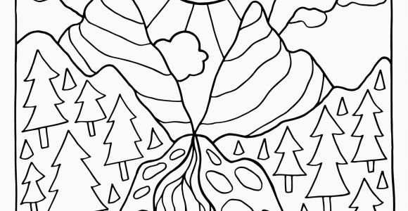 Free Printable Mushroom Coloring Pages Free Printable Mushroom Coloring Pages New Nature Coloring Pages