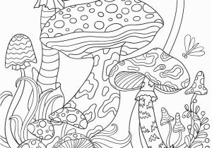 Free Printable Mushroom Coloring Pages Mushroom Coloring Page Free Printable Mushrooms Adult Coloring Page