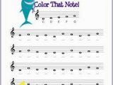 Free Printable Music Notes Coloring Pages Color that Note
