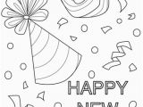 Free Printable New Years Coloring Pages New Year Confetti Coloring Page