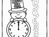 Free Printable New Years Coloring Pages New Years Coloring Pages 14 Pages Of New Years Coloring
