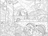 Free Printable Ocean Coloring Pages for Adults Wel E to Dover Publications Ch Fanciful Sea Life