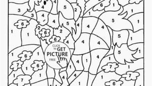 Free Printable Paint by Number Coloring Pages Number 6 Coloring Page Lovely Free Printable Paint by Number