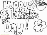 Free Printable Saint Patrick Coloring Pages New St Patrick Day Coloring Pages Free Coloring Pages