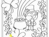 Free Printable Saint Patrick Coloring Pages Shamrock Coloring Page Free Printable