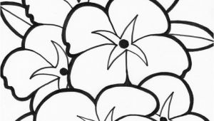 Free Printable Simple Flower Coloring Pages Easy Coloring Pages Flowers at Getdrawings