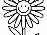 Free Printable Simple Flower Coloring Pages Flower Simple 2 Coloring Page
