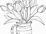 Free Printable Simple Flower Coloring Pages Free Printable Flower Coloring Pages for Kids Best