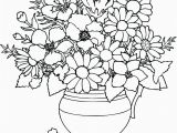 Free Printable Simple Flower Coloring Pages Simple Flower Coloring Pages Free Cute Printable
