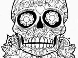Free Printable Skull Coloring Pages for Adults Get This Sugar Skull Coloring Pages Adults Printable