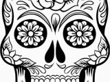 Free Printable Skull Coloring Pages for Adults Printable Sugar Skull Coloring Pages