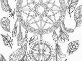 Free Printable Spring Coloring Pages for Adults Pdf Free Printable Dreamcatcher Adult Coloring Page Download It In Pdf