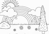 Free Printable Spring Coloring Pages for toddlers Free Printable Rainbow Coloring Pages for Kids