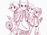 Free Printable Stranger Things Coloring Pages 26 Stranger Things Coloring Book In 2020 with Images