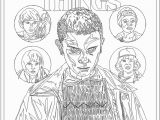 Free Printable Stranger Things Coloring Pages Free Printable Stranger Things Coloring Pages