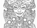Free Printable Sugar Skull Coloring Pages 251 Best Sugar Skulls Day Of the Dead Coloring Pages for Adults