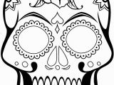 Free Printable Sugar Skull Coloring Pages Approved Sugar Skulls Coloring Pages Skull Page Free Printable for