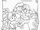Free Printable Sunday School Coloring Pages for Preschoolers 28 Great Mission Coloring Page In 2020