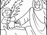 Free Printable Sunday School Coloring Pages for Preschoolers Palm Sunday Coloring Page