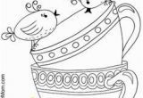 Free Printable Tea Cup Coloring Pages 126 Best Color Art therapy Food and Drinks Images On Pinterest