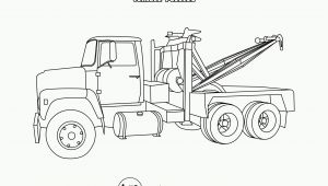 Free Printable tow Truck Coloring Pages tow Trucks Coloring Pages Coloring Home