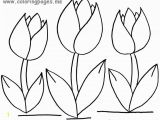 Free Printable Tulip Coloring Pages Tulip Coloring Pages All Regarding Page Flower Free Printable