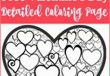 Free Printable Valentines Day Coloring Pages for Adults Free Valentines Day Colouring Page for Adults with Images