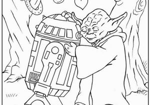 Free Printable Valentines Day Coloring Pages for Adults Star Wars Valentine Coloring Page with Images