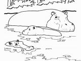 Free Printable Wild Animal Coloring Pages Wild Animal Coloring Page River Hippo Coloring Page