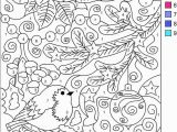 Free Printable Winter Coloring Pages for Kids Detailed Color by Number Printables Color by Number Printables Best