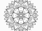 Free Printable Yoga Coloring Pages Floral Mandala Coloring Page • Free Printable Ebook
