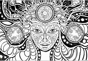 Free Psychedelic Coloring Pages for Adults Free Printable Psychedelic Coloring Pages Printable Coloring Page Ruva