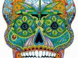 Free Sue Coccia Coloring Pages Wentworth Sugar Skull 200 Piece Sue Coccia Shaped Wooden Jigsaw Puzzle