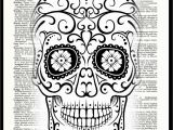 Free Sugar Skull Coloring Pages Best Coloring Printablegar Skull Pages for Kids Female