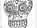 Free Sugar Skull Coloring Pages Dia De Los Muertos Sugar Skull Coloring Pages for Kids