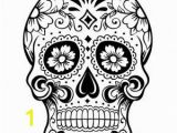 Free Sugar Skull Coloring Pages Free Printable Coloring Pages