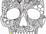 Free Sugar Skull Coloring Pages Pin On Adult Colorin Pages
