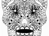 Free Sugar Skull Coloring Pages Sugar Skull Coloring Sheet