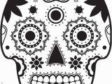 Free Sugar Skull Coloring Pages Sugar Skull Colouring Freebie Grade Onederful Blog