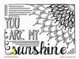 Free Sunflower Coloring Pages for Adults Adult Coloring Pages